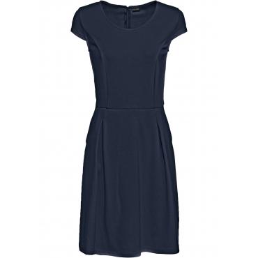 Business-Kleid kurzer Arm  blau Damen bonprix