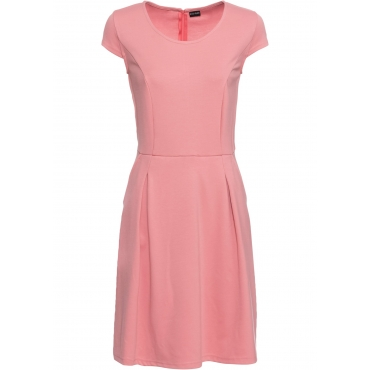 Business-Kleid kurzer Arm  rosa Damen bonprix