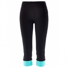 Capri Leggings in schwarz für Damen von bonprix