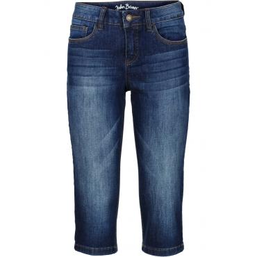 Capri-Stretch-Jeans Passformwunder in blau für Damen von bonprix