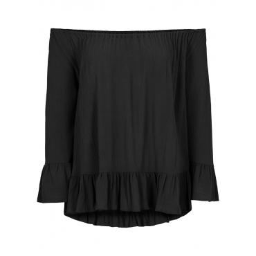 Carmen-Bluse in schwarz von bonprix