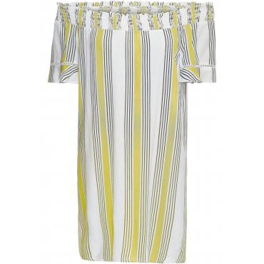Carmen-Kleid in beige für Damen von bonprix