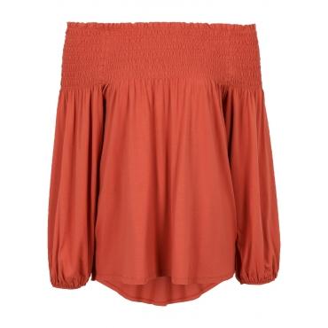Carmen-Shirtbluse in rot für Damen von bonprix