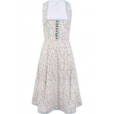 Dirndl -Kleid ohne Ärmel  weiß Damen, bonprix