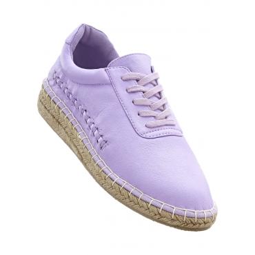 Espadrille in lila für Damen von bonprix