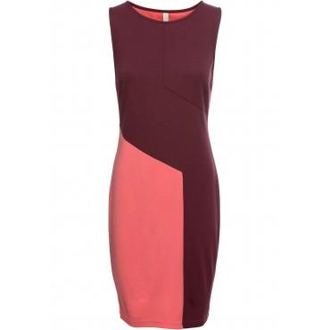 Figurbetonendes Shirtkleid ohne Ärmel  in pink für Damen von bonprix