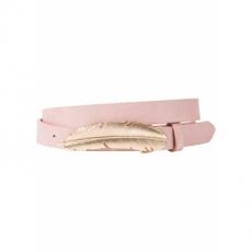 Gürtel mit Federschnalle in rosa für Damen von bonprix