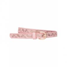 Gürtel mit floralem Lasercut in rosa für Damen von bonprix