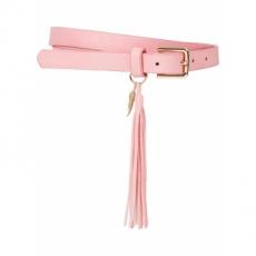 Gürtel mit Troddel in rosa für Damen von bonprix