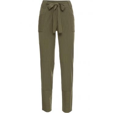 Hose in grün für Damen von bonprix