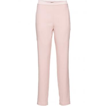 Hose mit Satinstreifen in rosa für Damen von bonprix