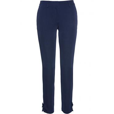 Hose mit Zierschleife in blau für Damen von bonprix