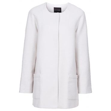 Jacke in weiß (Rundhals) für Damen von bonprix