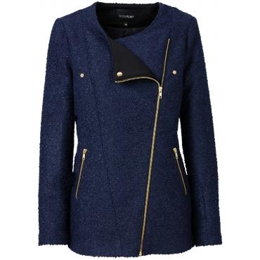 Jacke langarm  in blau für Damen von bonprix
