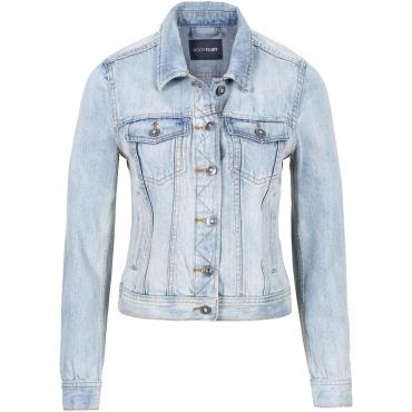 Jeans-Jacke in blau für Damen von bonprix