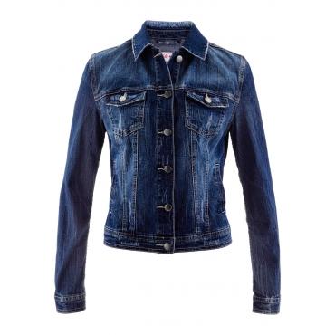 Jeansjacke - designt von Maite Kelly in blau für Damen von bonprix