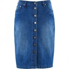 Jeansrock in blau für Damen von bonprix