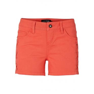 Jeansshorts in rot für Damen von bonprix