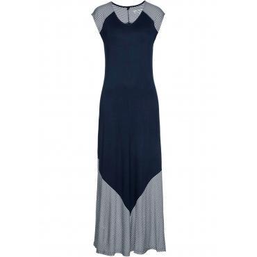 Jersey-Maxikleid ohne Ärmel  in blau für Damen von bonprix