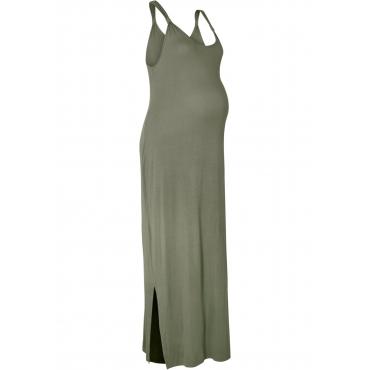 Jersey-Umstandskleid ohne Ärmel  in grün für Damen von bonprix
