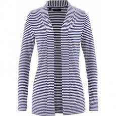 Jerseyjacke langarm  in blau für Damen von bonprix