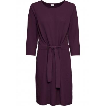 Jerseykleid 3/4 Arm  in lila für Damen von bonprix