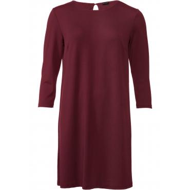 Jerseykleid 3/4 Arm  in rot für Damen von bonprix