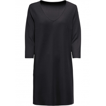 Jerseykleid 3/4 Arm  in schwarz für Damen von bonprix