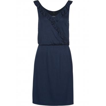 Jerseykleid ohne Ärmel  in blau für Damen von bonprix