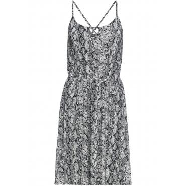 Jerseykleid ohne Ärmel  in grau für Damen von bonprix