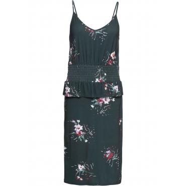 Jerseykleid ohne Ärmel  in grün für Damen von bonprix