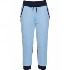 Jogginghose, 3/4-Länge in blau für Damen von bonprix