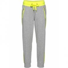 Jogginghose in 7/8-Länge in grau für Damen von bonprix
