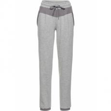 Jogginghose, lang in grau für Damen von bonprix