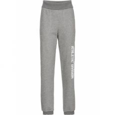 Jogginghose mit Umschlagbund in grau für Damen von bonprix