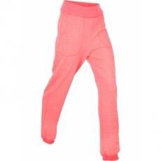 Jogginghose mit Umschlagbund in pink für Damen von bonprix
