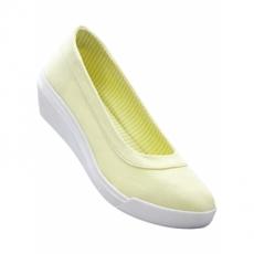 Keilballerina in gelb für Damen von bonprix