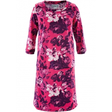 Kleid, 3/4-Arm - designt von Maite Kelly in pink von bonprix