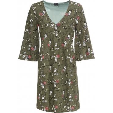 Kleid halber Arm  in grün für Damen von bonprix