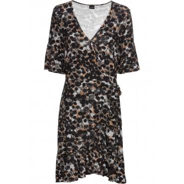 Kleid halber Arm  in schwarz  von bonprix