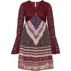 Kleid in rot von bonprix