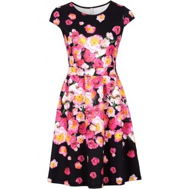 Kleid in schwarz von bonprix