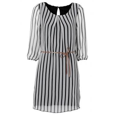 Kleid in weiß von bonprix