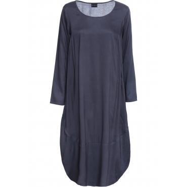 Kleid langarm  in blau (Rundhals) von bonprix