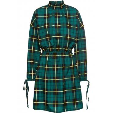 Kleid langarm  in grün von bonprix