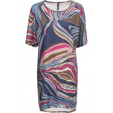 Kleid langarm  in lila für Damen von bonprix