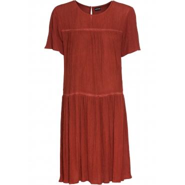 Kleid mit Spitze kurzer Arm  in rot für Damen von bonprix