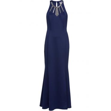 Kleid ohne Ärmel  in blau von bonprix