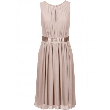 Kleid ohne Ärmel  in grau (Rundhals) für Damen von bonprix