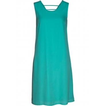 Kleid ohne Ärmel  in grün (Rundhals) für Damen von bonprix